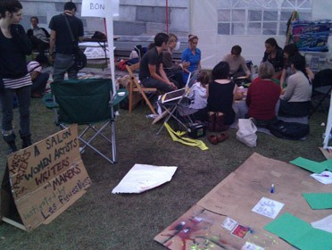 Mrs. Porter's at Occupy LA
